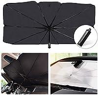 車の折りたたみ式反射傘、紫外線を遮断できる反射布、太陽光を完全に反射 (M:31 * 55in)