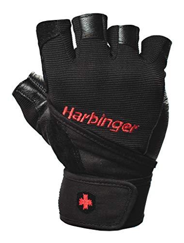 Harbinger Herren Fitnesshandschuhe Pro Wristwrap, Black, XL
