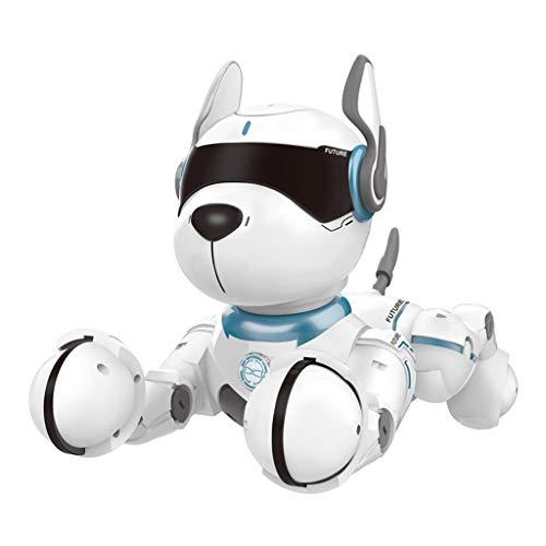 LLAni Control Remoto de los Juguetes del Perro Robot para Juguetes de niños de educación Inicial de programación Inteligente Inteligente Truco del Perrito Robot
