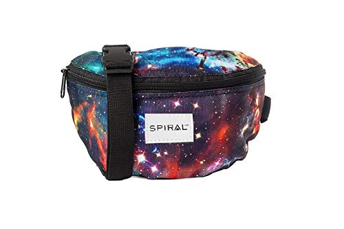 Spiral Unisex Galaxy Neptune Harvard Bum Tasche, Mehrfarbig, Small