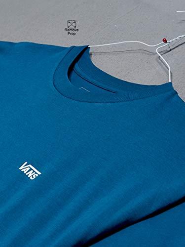 Vans Tee Shirt Colourblock Corsair-Dress Bleus (S, Bleu)