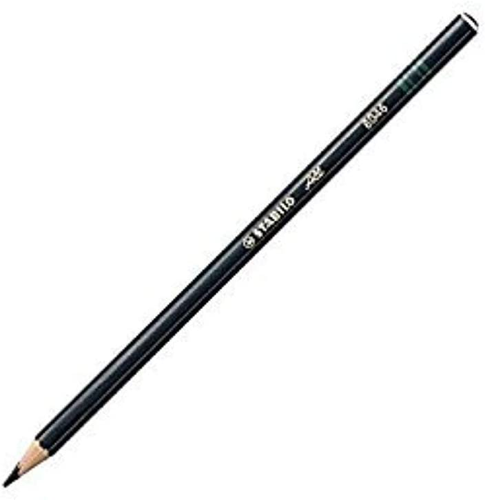 Stabilo-All Pencil 8046 Black 12 Pack