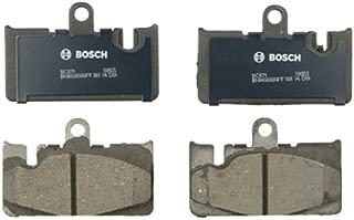 Bosch BC871 QuietCast Premium Ceramic Disc Brake Pad Set For 2001-2006 Lexus LS430; Rear