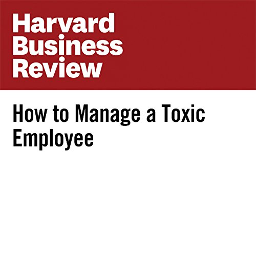 How to Manage a Toxic Employee audiobook cover art