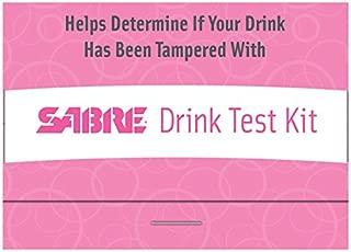 SABRE Drink Test Kit - 5 GHB/Ketamine Tests for Personal Safety