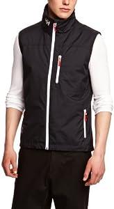 Helly Hansen Crew Vest Chaleco Forro Polar Interior para Hombres, Impermeable y diseñado para Cualquier Actividad Casual o Deportiva, Azul (Marino), L