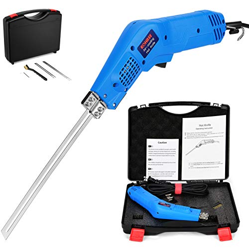 Kohree [2020 New] Air-Cooling System Hot Knife Foam Cutter Kit, Upgrade 190W High Power Electric Foam Wire Cutter Heat Knife Styrofoam Cutting Tool, 2 Times Faster and 24-Hour Continuously Operated