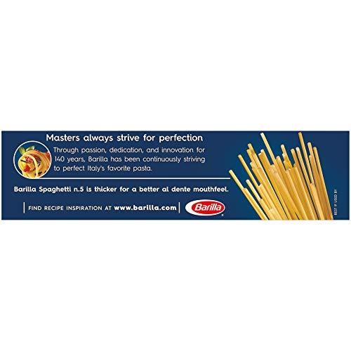 Barilla Spaghetti Pasta, 1 Pound (Pack of 20)