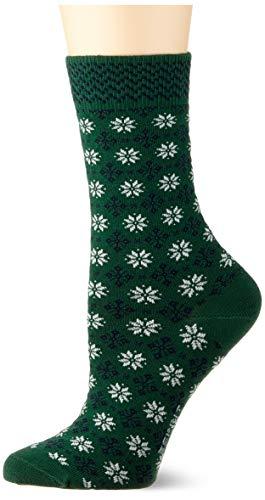 ESPRIT Damen Norwegian W SO Socken, Grün (Fire Tree 7400), 35-38 (UK 2.5-5 Ι US 5-7.5),1 Paar