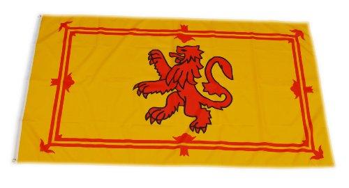Original Handycop® Flagge Fahne F91664 Schottland mit Löwe frühere Flagge des schottischen Königtums 90 x 150 cm - wetterfeste Qualität
