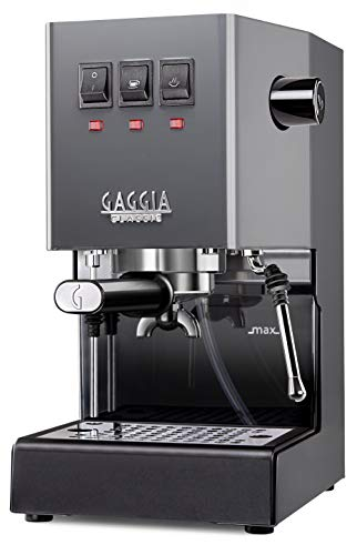Gaggia Classic Pro Espresso Machine In Industrial Grey