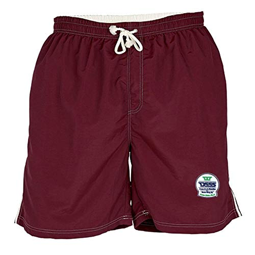 Duke D555 - costume pantaloncino - con retina in mesh - Borgogna - 8XL