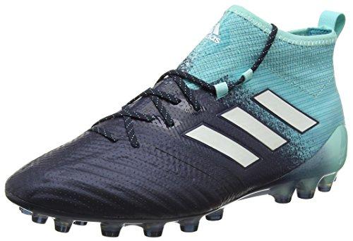adidas Ace 17.1 AG, Scarpe da Calcio Uomo, Blu Energy Aqua Footwear White Legend Ink, 41.5 EU
