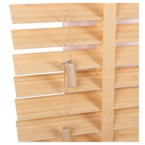 GUOWEI Jalousien, Holzläden Jalousette, Dekoration Fensterjalousie für Bar Studierzimmer Badezimmer, Wearable Leiterband, Anpassbar (Color : A, Size : 45x150cm)