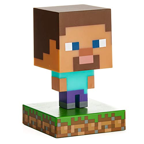 Paladone Products Minecraft 3D Icon Light Steve Lamps Lights