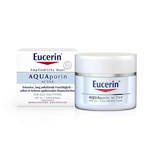 Eucerin Empfindliche Haut AQUAporin active LSF 25, 50 ml Creme
