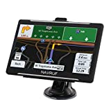 GPS Navigation for Car Truck RV, 7 Inch Touch Screen Vehicle GPS, Free Lifetime Maps of North America USA Canada Mexico
