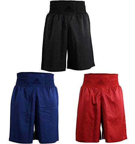 adidas Box-Shorts für Herren und Damen, Fitnesstraining, Diamond Flex, Box-Shorts für Herren und Damen, Training Fight Gym Sparring Fitness Trunks Diamond Flex, ADISMB03, rot, XLarge