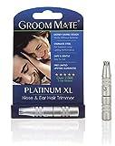 Groom Mate Platinum XL Haartrimmer für Nase und Ohren: ohne Batterien