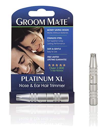 GroomMate鼻毛・耳の毛カッタープラチナXL25400