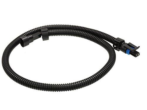 Michigan Motorsports 24 inches long Coolant Temperature Sensor Extension Harness Fits Most 2 Wire TPI TBI LT1 LS1 LS2 Water Temp LSX Plug
