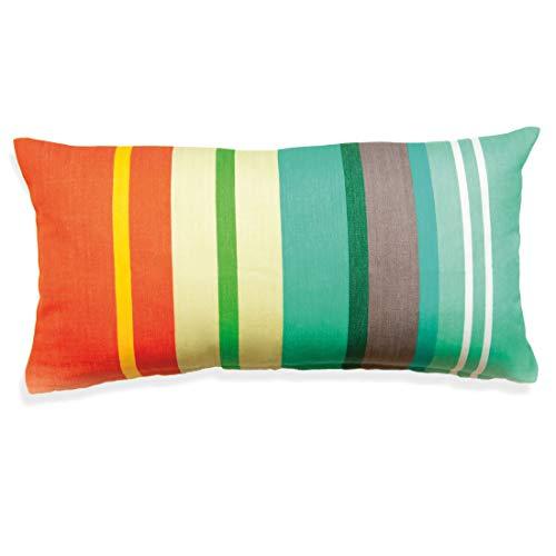 Remember Kissen 'Stripes Peach, Bunt, 30x60