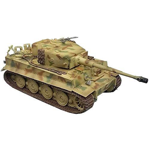 HYLL 1/72 Scale Diecast Tank Modelo de plástico, Alemania Chariot Tiger, Juguetes Militares y Regalos, 4.6 Pulgadas x 2 Pulgadas