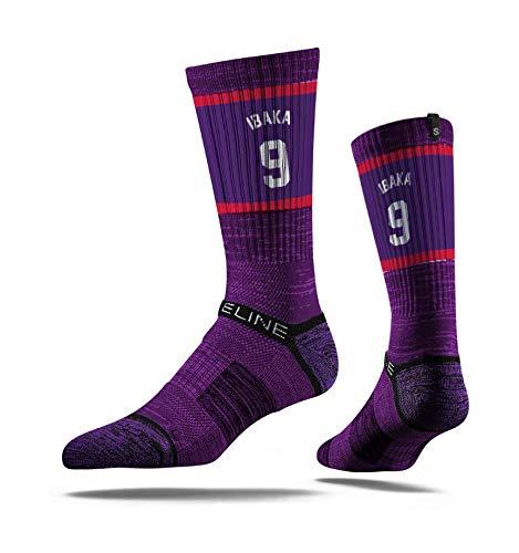 Strideline NBA Toronto Raptors Serge Ibacka - Calcetines deportivos (talla única)