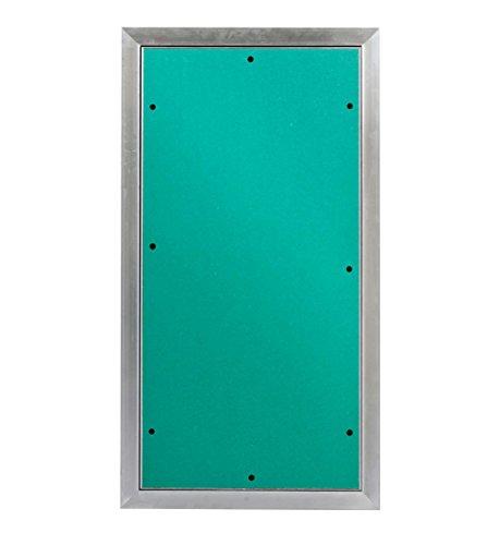 MW multi werkzeug Revisionsklappe 300 x 600 mm mit 12,5mm GK-Einlage imprägniert für Feuchtraum geeignet Aluminium-Rahmen 30 x 60 cm