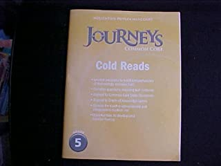 Journeys: Cold Reads Grade 5