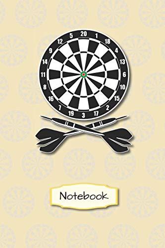 Notebook: Dart Darten | A5 - Kariert (Kästchen) 120 Seiten | Notizbuch | Spielbuch | Planer | Geschenk | zum selber ausfüllen