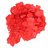 Confeti en forma de corazón, confeti para el día de San Valentín, artículos para fiestas Papel para bodas para fiestas