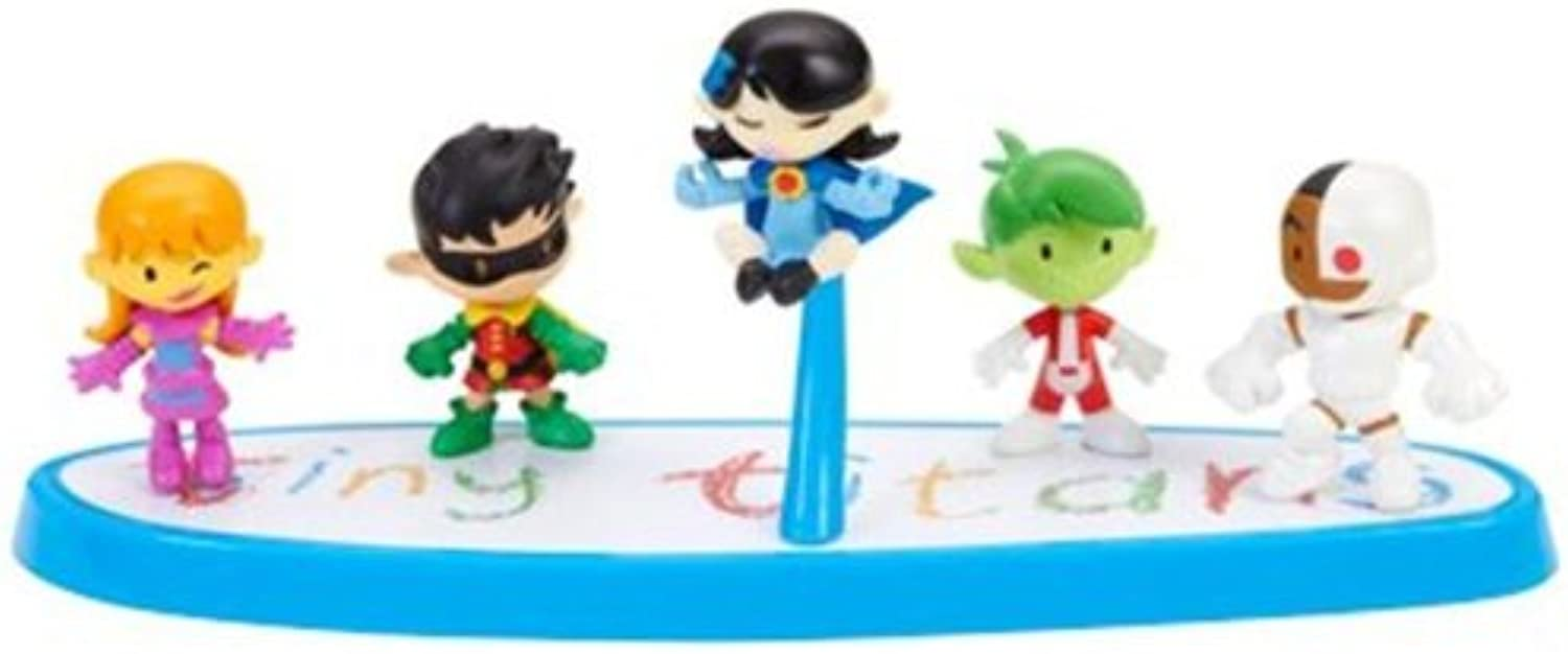 2012 SDCC Comic Con Exclusive Tiny Titans Set by Teen Titans