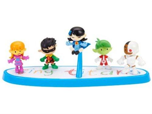 2012 SDCC Comic Con Exclusive Tiny Titans Set by Teen Titans
