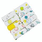 ViVidLife Muselinas Bebe Algodon, 10 Piezas Toallas Bebe Gasas para Bebes,...
