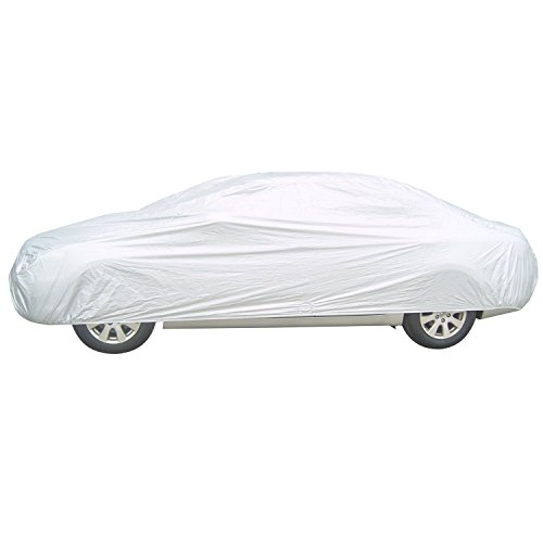 APZONA Nylon Universal Car Cover All Weather Proof Fits Sedans up to 180 inches
