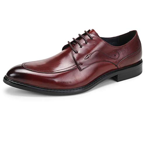 Zapatos de vestir de los hombres de Inglaterra Zapatos de cuero de negocios de los hombres de la versión europea de los zapatos de marea
