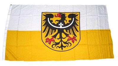 Fahne Flagge Niederschlesien 60 x 90 cm Flaggen Fahnen