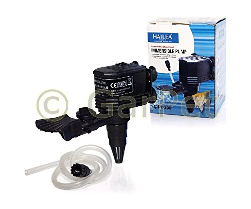 HAILEA PT - Serie Powerhead Pumpe Circulator Wasserpumpe Förderpumpe Filter (pt-200)