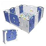 Parc à bébé enfants Centre d'activités de sécurité Play Yard l'intérieur ou l'extérieur avec 14 Panneaux NEUF Pen (classique 14 Panneaux)
