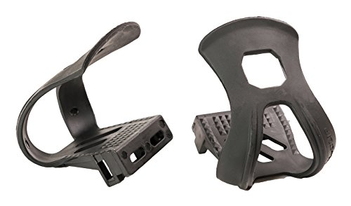 Retrospec Bicycles Unbreakable Strapless Bicycle Toe Clip/Cage, Black
