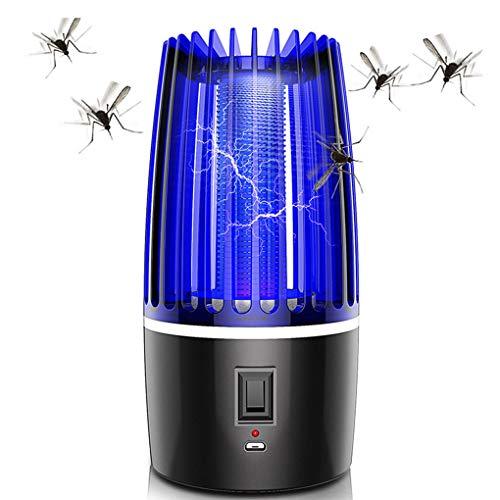 Radiancy Inc Elektrischer Insektenvernichter,Silent Mini Mückenfalle Fliegenfalle,elektrische mückenfalle USB mit Sicherheitsnetz,2000ma Für Innen und Außeneinsatz Schlafzimmer Gärten