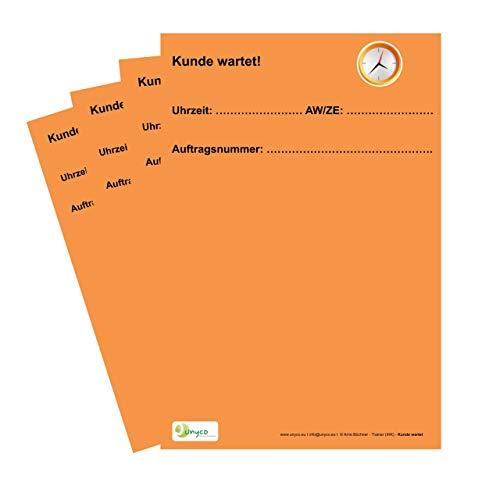 Kunden väntar på specialkort för verkstadstillställning ***ORGANISATIONSMITTEL*** VPE = 20 stycken