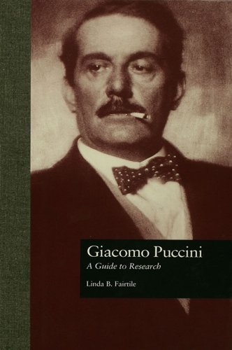 Giacomo Puccini: A Guide to Research (Routledge Music Bibliographies Book 48) (English Edition)