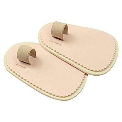 ViveSole Toe Splint [Pair] - Hammer Toe Straightener - Joint Realign Cushion Brace for Claw, Curled, Crooked Toe - Metatarsal Support Loop Guard Alignment Corrector Wrap for Tendon