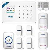 KERUI W18 2.4G WiFi/GSM Smart Home Alarm System Wireless,DIY More Accessories Kits Burglar