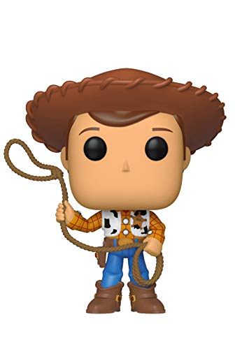 Funko- Pop Vinilo: Disney: Toy Story 4: Woody Figura Coleccionable, Multicolor, Talla Única (37383)