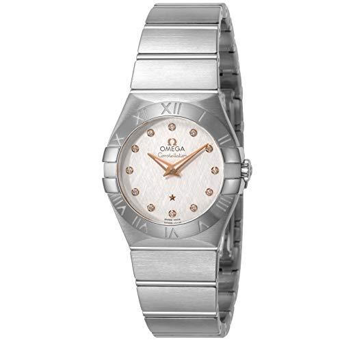 [オメガ] 腕時計 Constellation シルバー文字盤 ダイヤモンド 123.10.27.60.52.001 レディース 並行輸入品 シルバー