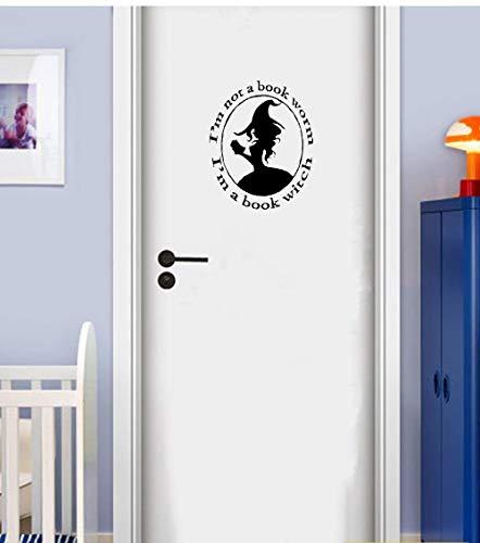25 * 25cm Potter Magie der Schule Hogworts Schlafzimmer Tür Dekor Dacals Aufkleber Potter Besen Silhouette Hufflepuff Team Chaser Quidditch Aufkleber Aufkleber