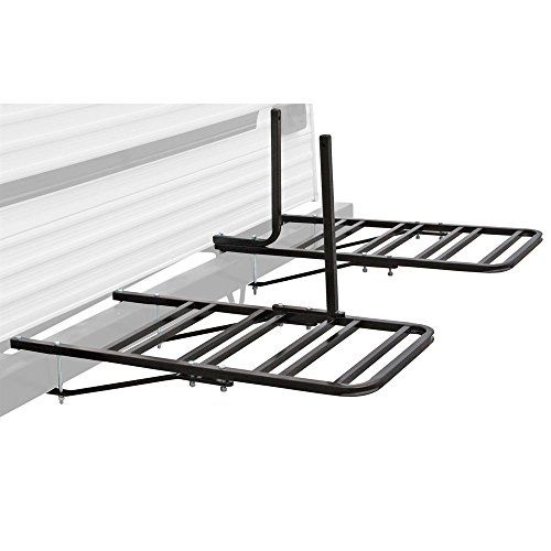 Rage Powersports RV or Camper Trailer Bumper Bike Rack for 1-4 Bicycles
